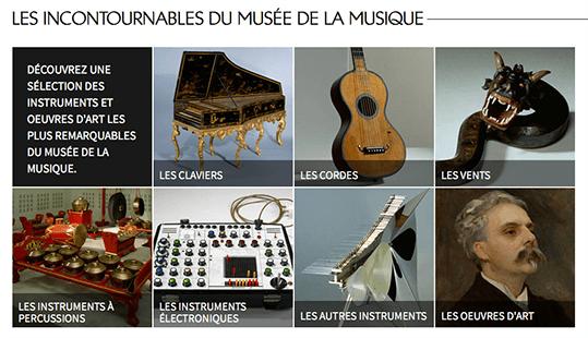 Les collections du musée de la Philarmonie de Paris